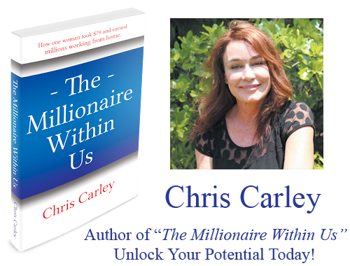 chris carley Herbalife author the millionaire within us
